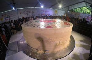Biggest Marzipan Cake from Mexico - Record Guiness